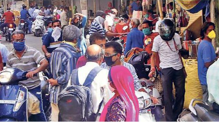Udaipur Social Distancing Break Rule