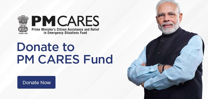 Donate to PM Cares Fund