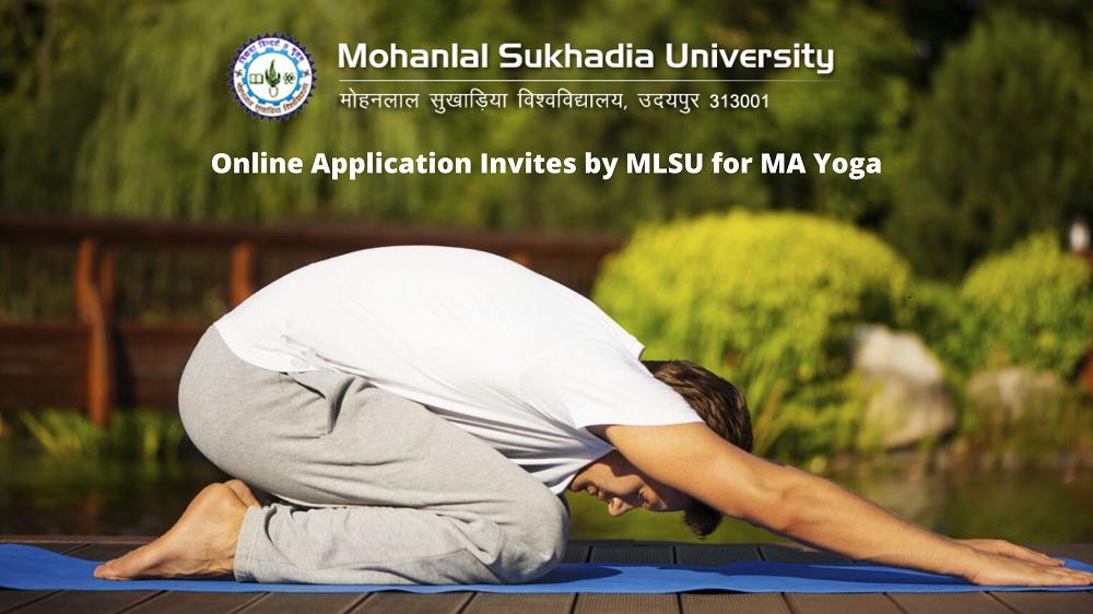 MA Yoga Course in MLSu Udaipur
