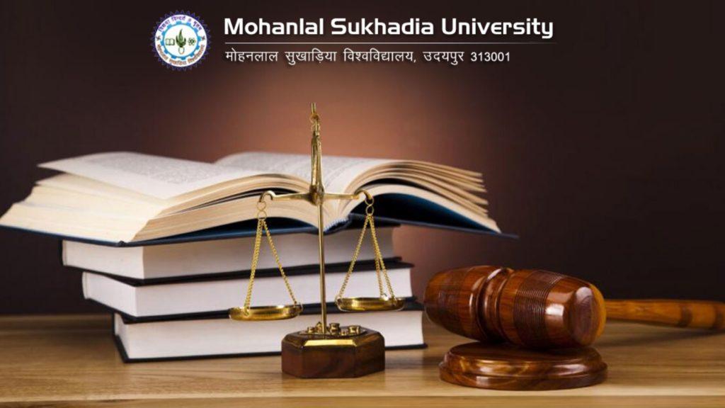 LLB Admission MLSU Udaipur