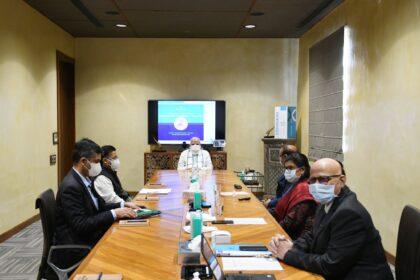 Modi during vaccine tour