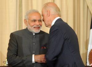 PM Modi Joe Biden File Photo