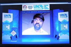 satya prakash mehra winning award in webinar